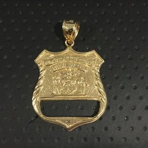 Jewelry - 14k Yellow Gold New York State Courts 👮♀️ Badge